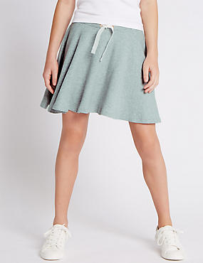 Pure Cotton Skater Skirt (5-14 Years)