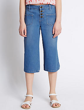 Denim Culottes (5-14 Years)