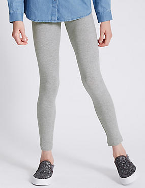 Cotton Rich Leggings with StayNEW™ (3-14 Years)