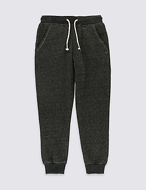 Cotton Blend Joggers with Lurex (3-14 Years)
