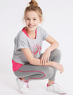 Side Stripe Leggings (3-16 Years)