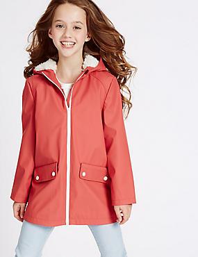 Girls Red Coats & Jackets | Burgundy & Maroon Kids Coat | M&S