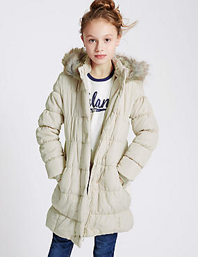 Lux Padded Coat with Stormwear™ (5-14 Years)