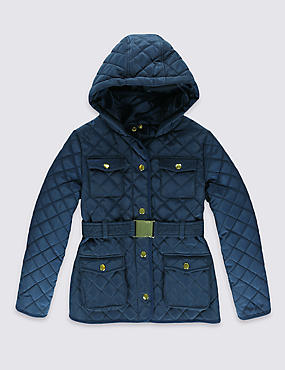 Quilted Belted Coat with Stormwear™ (3-16 Years)