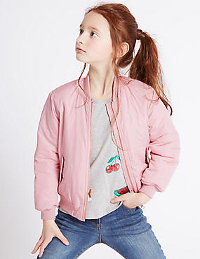 Girls Coats &amp Jackets - Leather &amp Winter Coats for Girls | M&ampS