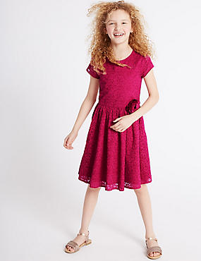 Lace Prom Dress (3-14 Years)