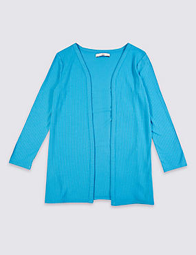 Long Sleeve Jersey Cardigan (3-14 Years)