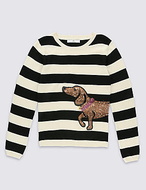Long Sleeve Striped Jumper (5-14 Years)