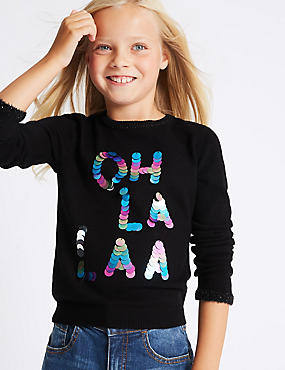 Sequin Jumper (3-14 Years)