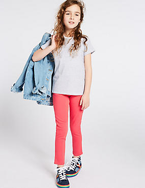 Super Skinny Jeans (3-16 Years), BRIGHT PINK, catlanding
