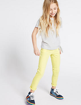 Super Skinny Jeans (3-16 Years), PALE YELLOW, catlanding