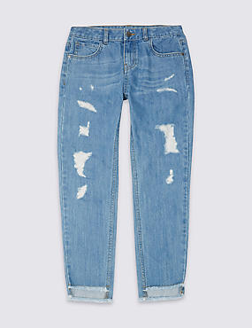 Pure Cotton Jeans (3-14 Years)