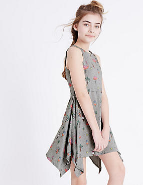 All Over Print Jersey Dress (3-14 Years)