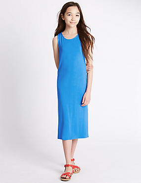 Racer Back Maxi Dress (5-14 Years)