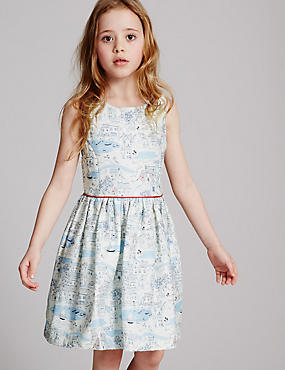 All Over Print Dress (3-14 Years)