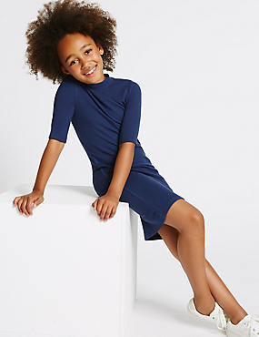 Ribbed Dress (3-14 Years)