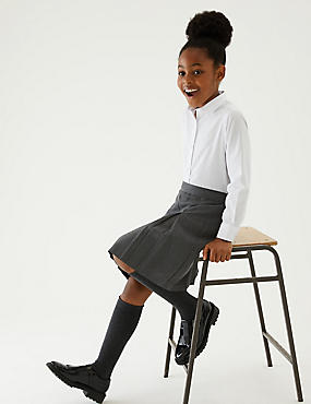 School Skirts Black Grey Amp Navy School Skirts M Amp S