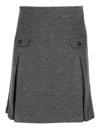 Girls' Knitted Skirt with Tab Pockets Clothing
