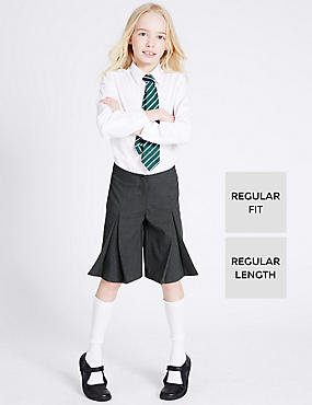 Girls' Culottes with Adjustable Waist & Triple Action Stormwear™
