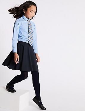 Girls' Skater Skirt, NAVY, catlanding