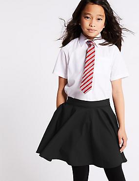 Girls' Skater Skirt, BLACK, catlanding