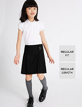 Senior Pleated Skirt with Triple Action Stormwear™