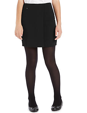 Senior Girls' Panelled Straight Skirt
