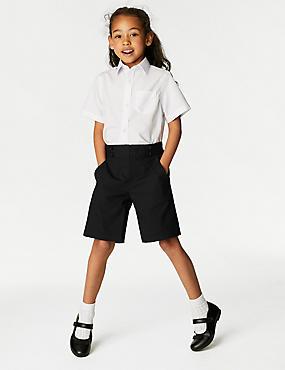 Girls' Shorts, BLACK, catlanding