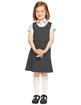 Pure Cotton Stay Soft Knitted Pinafore with StayNEW™