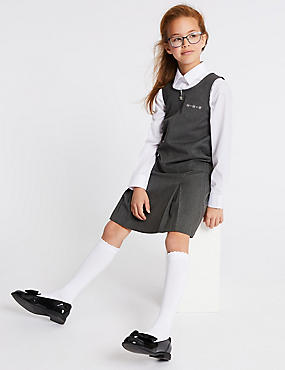 Girls' Embroidered Pinafore