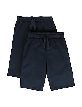 2 Pack Boys' Sweat Shorts with StayNEW™
