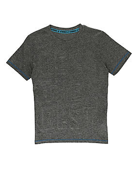 Boys' Embossed Top (Older Boys)