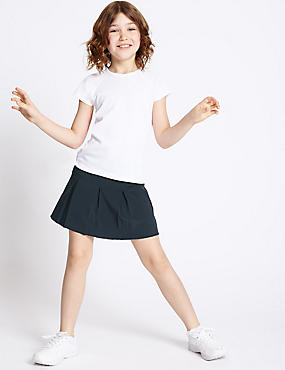 Girls' Sports Skorts, DARK NAVY, catlanding