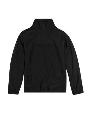 Boys' Funnel Neck Zip Through Lined Track Top with Active Sport™