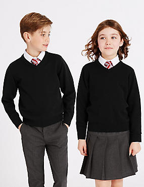 Outstanding Value Unisex Pure Cotton Jumper with StayNEW™
