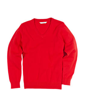 Cotton Rich Unisex Jumper with StayNEW™