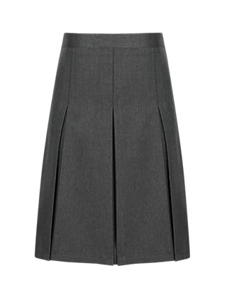 Traditional Pleated Skirt with Permanent Pleats in Longer Lengths Clothing