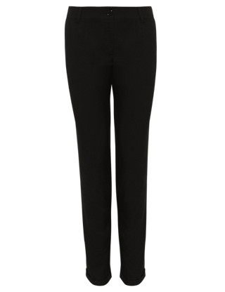 Senior Girls' Tapered Leg Trousers with Stormwear+™ (Older Girls) Clothing
