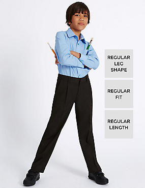 Boys' Trousers with Supercrease™