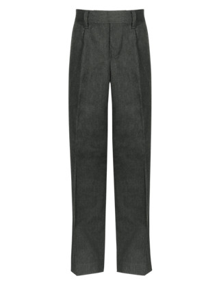 Plus Fit Boys' Pleat Front Trousers with Stormwear+™ Clothing