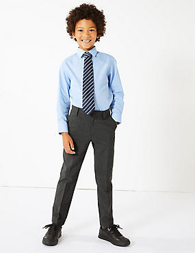 Boys' Skinny Leg Trousers with Supercrease™