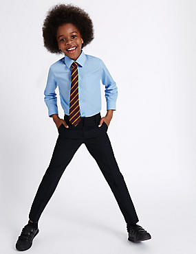 Boys' Slim Leg Slim Fit Trousers