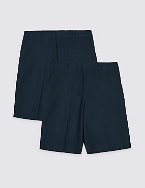 2 Pack Boys' Regular Leg Shorts