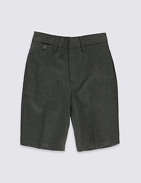 Boys' Crease Resistant Skinny Shorts with Triple Action Stormwear™