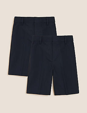 2 Pack Boys' Slim Leg Shorts