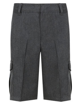 Boys' Plus Fit Cargo Shorts with Stormwear™