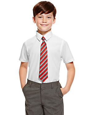 Slim Fit 2 Pack Boys' Ultimate Non-Iron Shirts