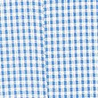 Girls' Gingham Pleated Dress, BLUE, swatch