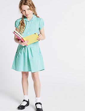2 Pack Gingham Dress (2-14 Years)