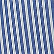 Girls' Pure Cotton Striped Dress, BLUE, swatch